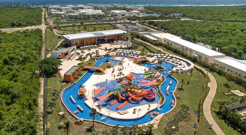 resorts with lazy rivers in caribbean nickelodeon resort punta cana