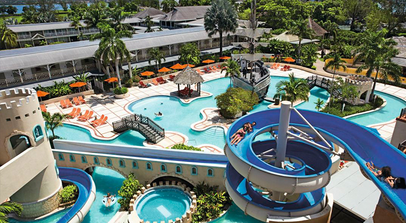 caribbean resorts with lazy rivers sunscape cove