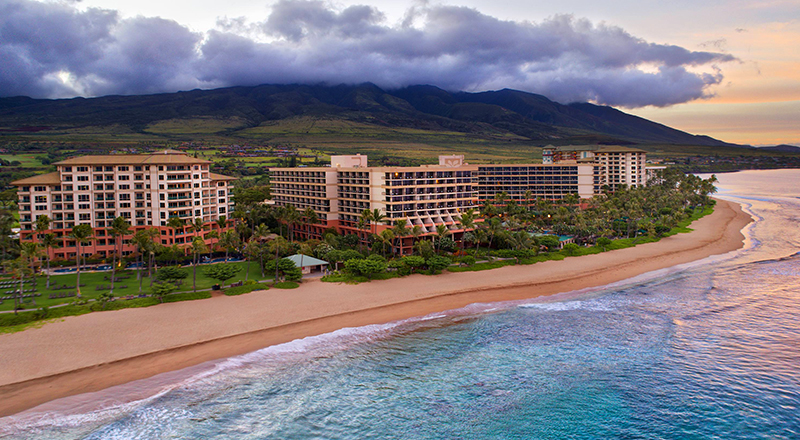 2020 hawaiian vacation marriotts maui ocean club