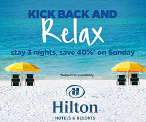 hilton sundays free vacation deals