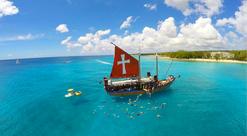 what to do in st. lawrence gap lunch snorkel sail barbados