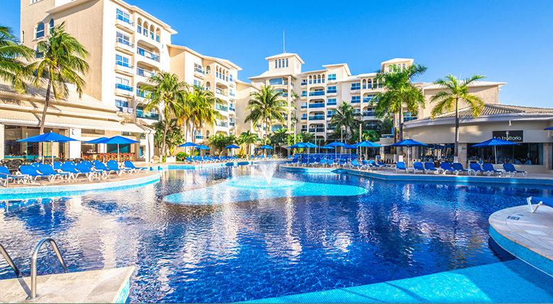 2020 top cancun resorts occidental costa cancún caribbean