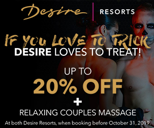 desire trick or treat best couples vacation deals