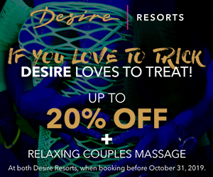 desire trick or treat adult only resort deals