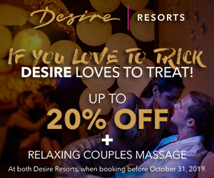 desire trick or treat couples mexico romantic deals