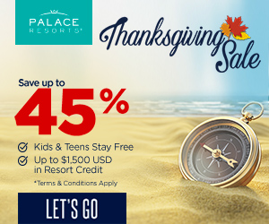 palace resorts thanksgiving sale