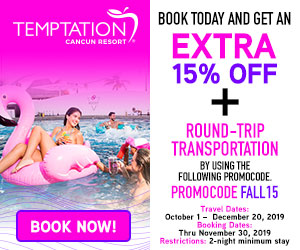 temptation topless travel deals