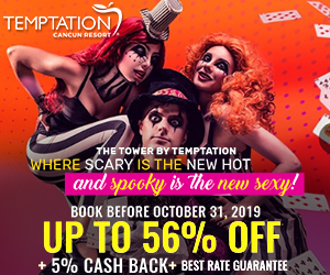 temptation spooky sale adult only resort mexico deals