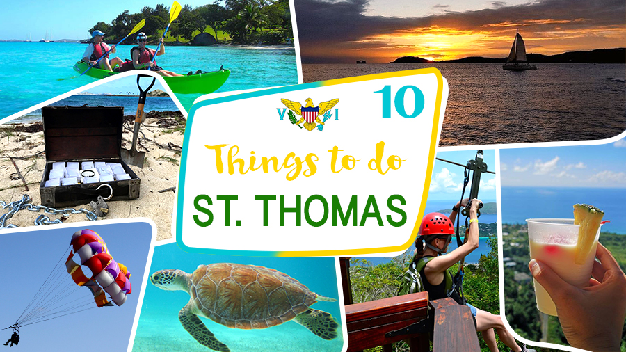 things to do in saint thomas u.s. virgin islands tourist attractions