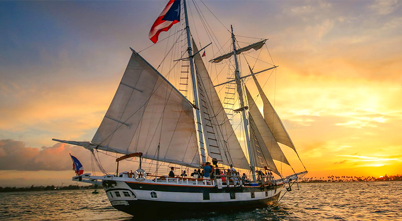 what to do in san juan caribbean old san juan sunset sail