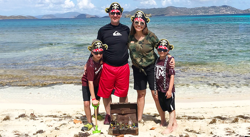 st. thomas best things to do tropical treasure hunt family fun