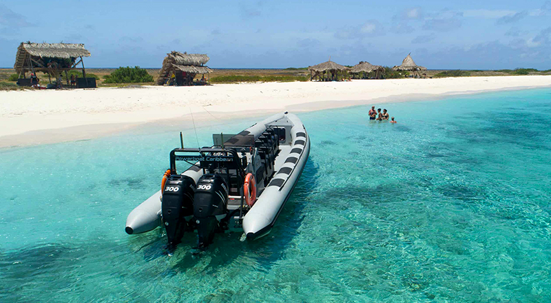 willemstad curacao best things to do klein curacao powerboat adventure