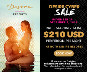 desire cyber sale sexy couples vacation deals