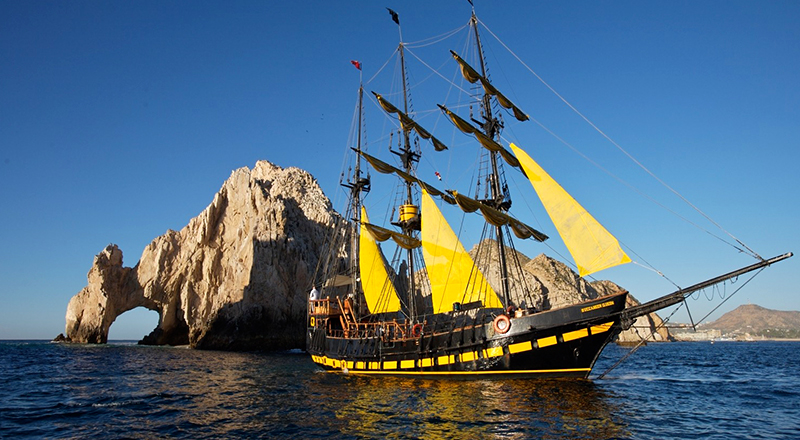 los cabos mexico fun things to do pirate ship snorkel and lunch cruise in los cabos