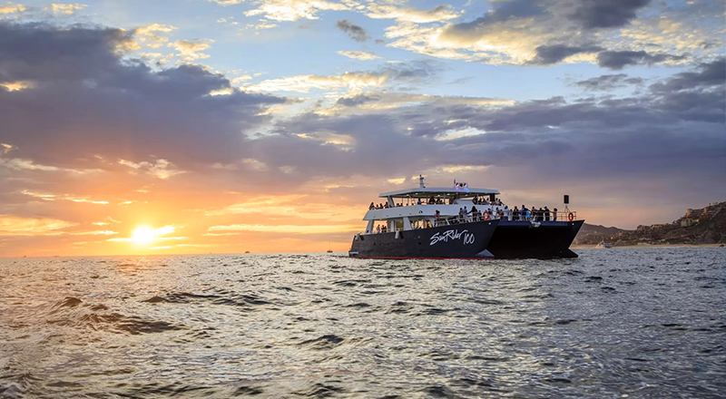 fun things to do in los cabos mexico sunset dinner cruise in cabo san lucas