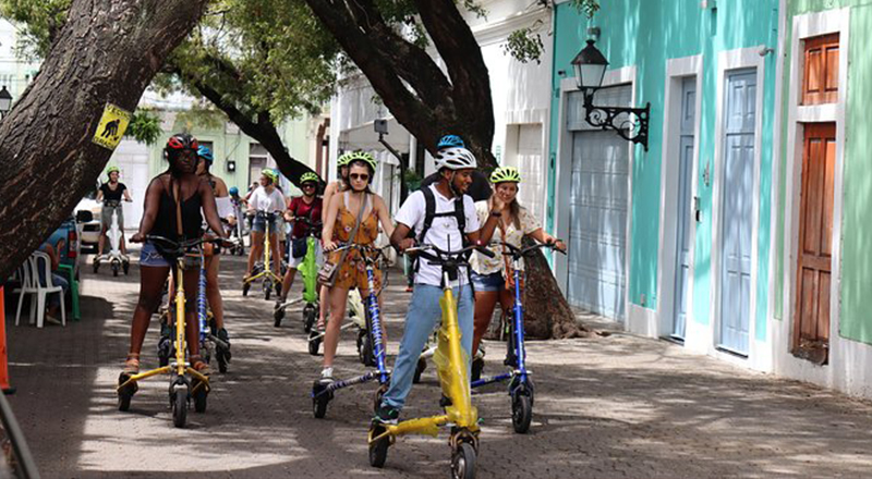 fun things to do in santo domingo dominican republic old town by trikke