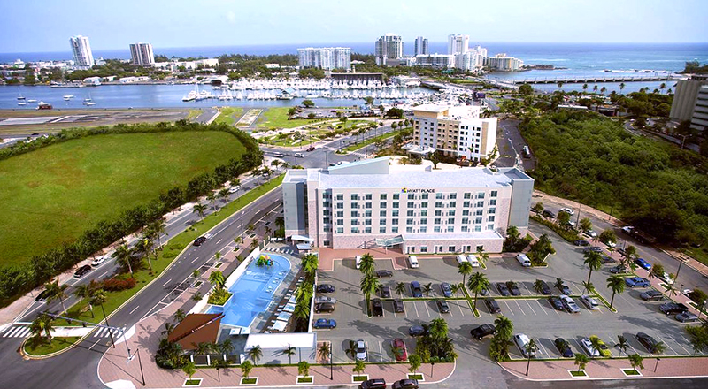 san juan puerto rico best places to stay hyatt place