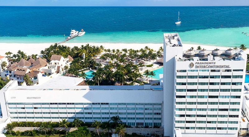 best january caribbean resorts intercontinental hotels presidente cancun resort