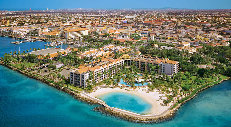 best caribbean resorts to celebrate st patrick's day renaissance aruba beachfront vacation