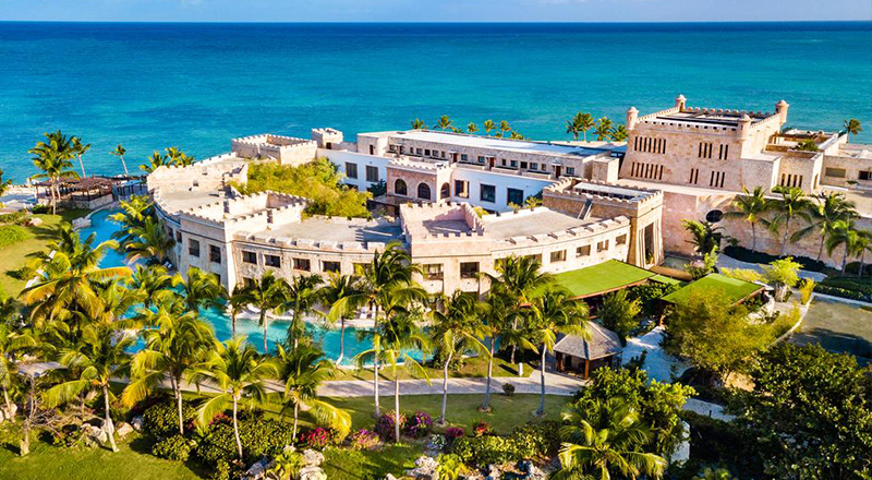 best january caribbean resorts sanctuary cap cana