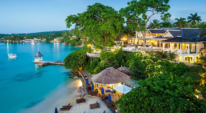 caribbean resorts for january sandals royal plantation