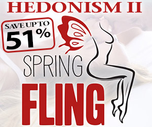 hedonism spring fling sexy vacation deals