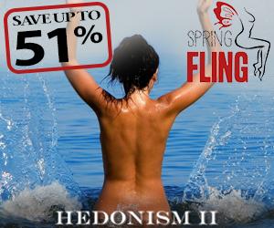 hedonism spring fling topless adult travel deals