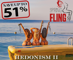 hedonism spring fling clothing optional vacation deals