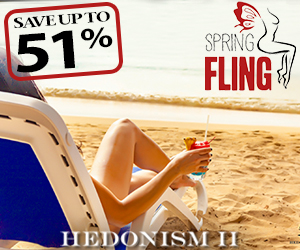 hedonism spring fling swingers lifestyle travel deals