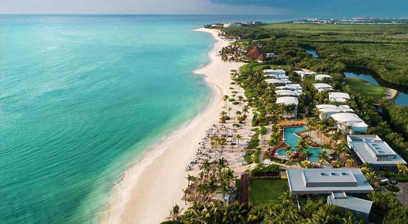 andaz mayakoba resort riviera maya pet-friendly travel caribbean