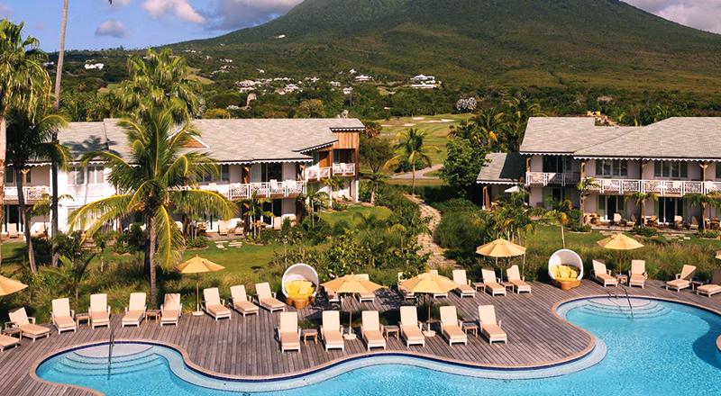 four seasons nevis caribbean pet-friendly travel