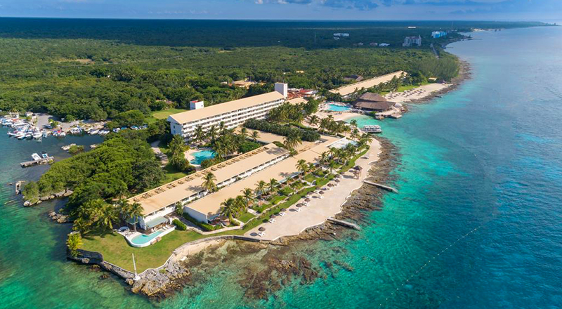 intercontinental presidente cozumel resort caribbean pet-friendly hotel