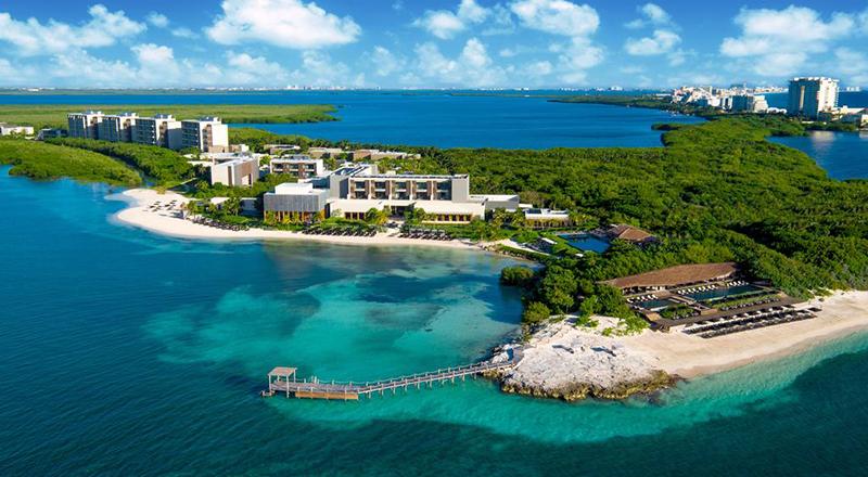 nizuc resort and spa pet-friendly hotel caribbean