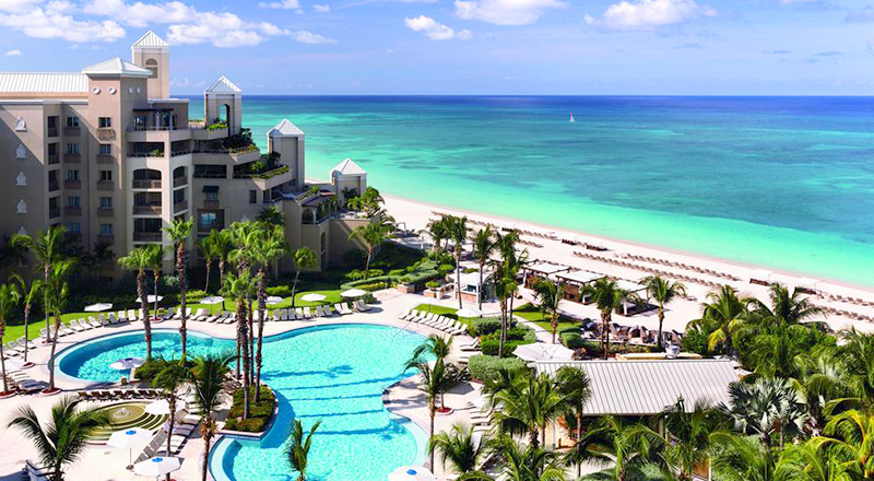 ritz-carlton grand cayman caribbean pet-friendly hotel