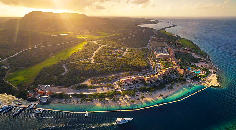 caribbean animal-friendly resort santa barbara beach & golf resort