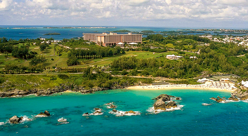 fairmont southampton caribbean animal-friendly resort