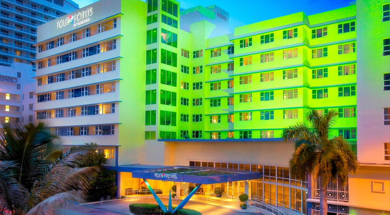 top resorts for florida 2020 four points by sheraton miami beach