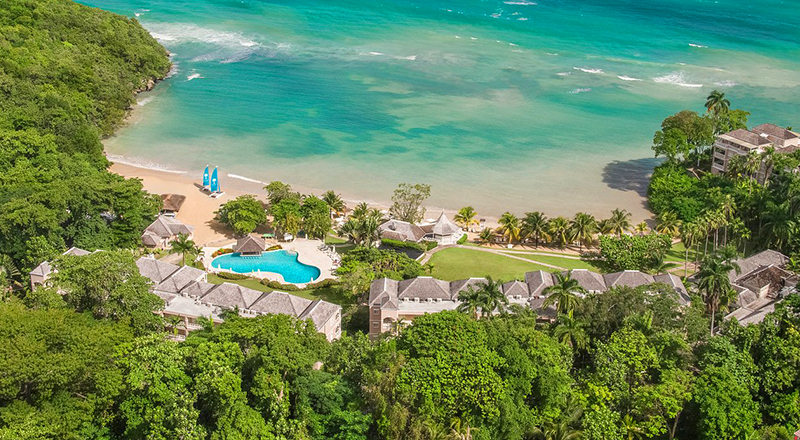 resorts in caribbean for february couples sans souci