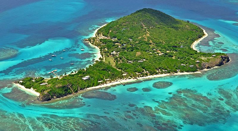 february caribbean resorts petit st. vincent island resort on st. vincent