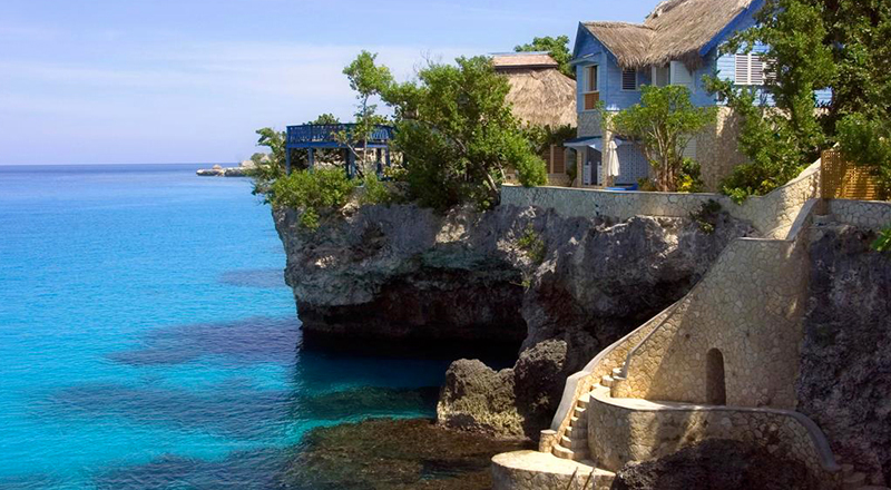 february caribbean resorts the caves hotel and spa jamaica