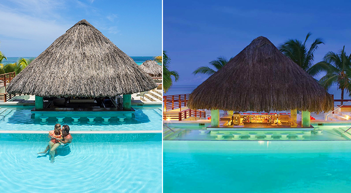 pool swim-up caribbean bars couples swept away jamaica couples only