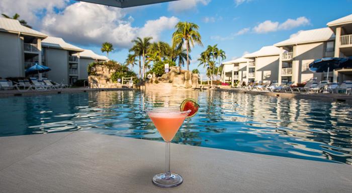 swim-up pool bars in the caribbean margaritaville beach resort grand cayman