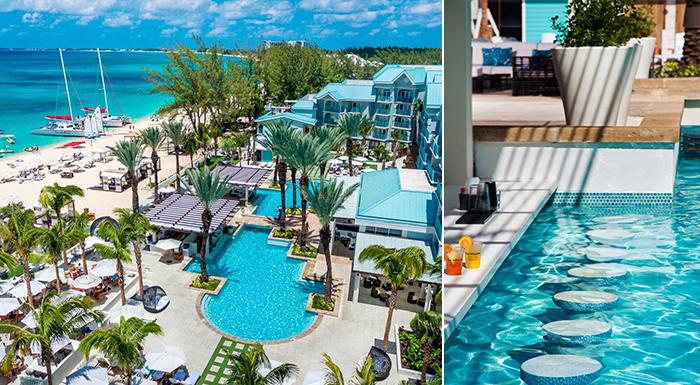 swim-up pool caribbean bars westin grand cayman seven mile beach resort and spa