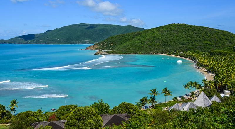 top march caribbean resorts rosewood little dix bay british virgin islands