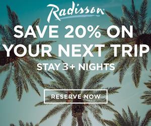 radisson save 20% best vacation deals
