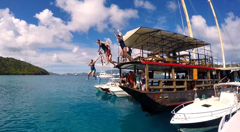 saint john tourism us virgin islands hop beach bar tour