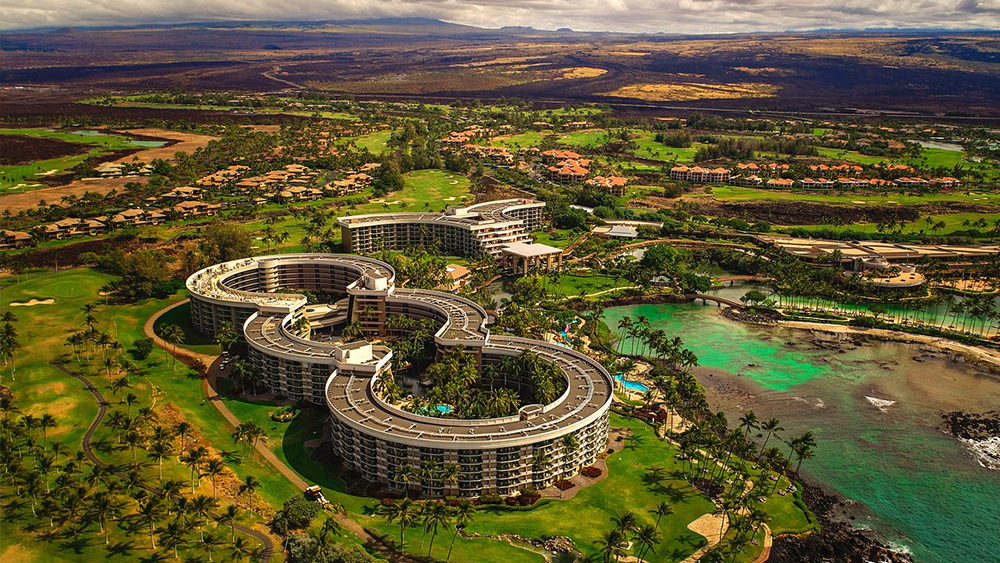 hilton grand vacations by ocean tower hawaii tropical travel
