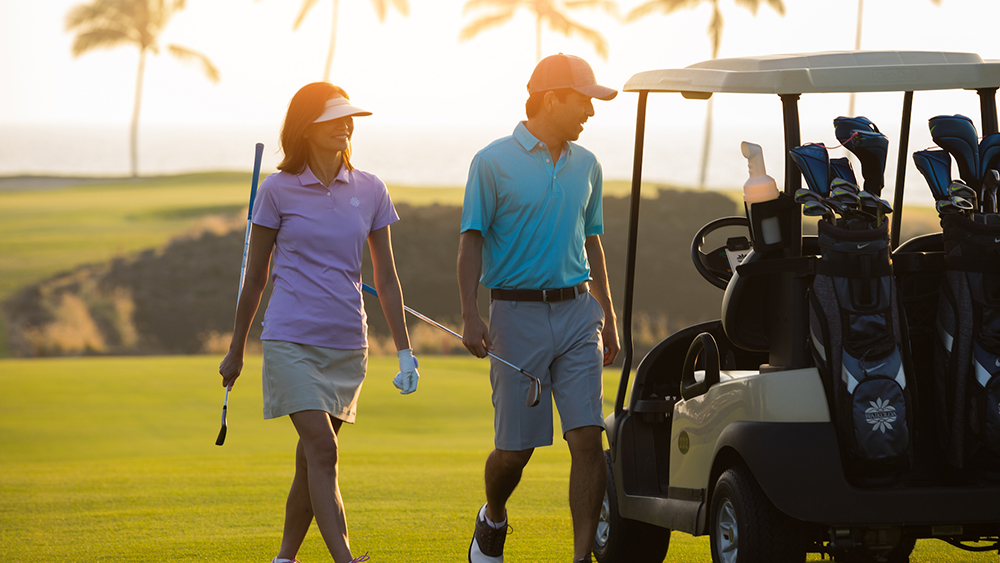 hilton grand vacations by ocean tower golf couples getaway