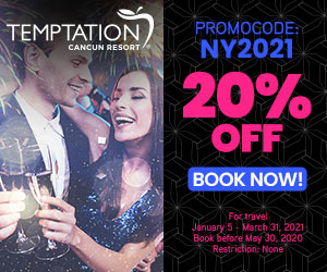 temptation new years party adult vacation deals