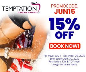 temptation cuncun resort mexico clothing optional travel deals
